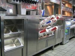 оборудование из нержавеющей стали для ресторана