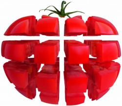 TOMATE cube