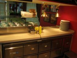 холодильный стол с ящиками
