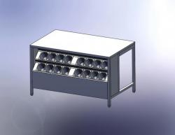 стол с гастроемкостями