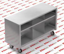 подкассовый стол из нержавеющей стали